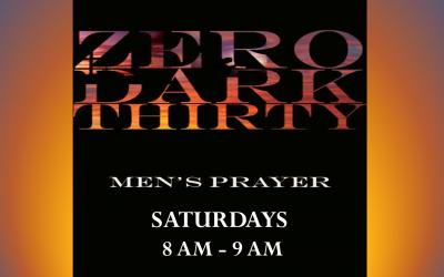 Zero Dark Thirty (Men's Prayer)
