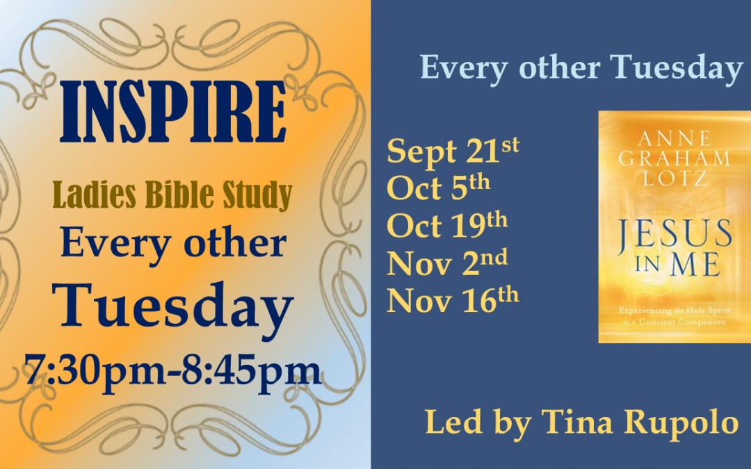 INSPIRE – Ladies Bible Study