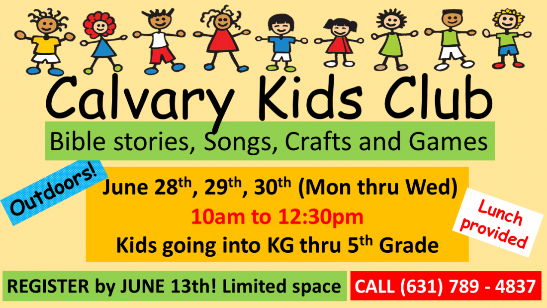 Calvary Kids Club